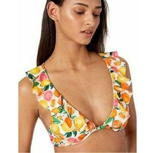 NWT Nanette Lepore Bikini Citrus Print